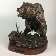 William Jorgensen Limited Edition Grizzly Statue Return To The Kill