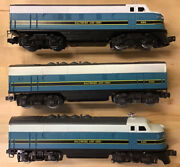 Lionel 8363, 8364 And 8368 Baltimore And Ohio Aba Set - Mint Condition