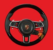 Porsche Cayenne Coupe  Piano Black Steering Wheel  Made In Germany