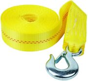 Fulton 20and039 Winch Strap And Hook For Boat And Trailer Bow Winch Nylon Webbing