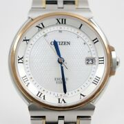 Citizen Exceed Euros 35th Anniversary Model Ecodrive Radio Shell Dial As7074-57a