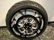 Performance Machine Luxe 18x8.5 240 Rear Wheel Pulley Rotor Bmp Wide Custom