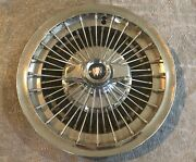 1965-67 Buick Special Chrome Wire Spoke Hubcap