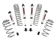 Rough Country 2.5in For Jeep Wrangler Tj Suspension Lift Kit W/v2 Shicks 4cyl