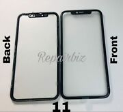 Front Glass Lens Screen With Oca + Bezel Replacement For Iphone Glass Pros Only