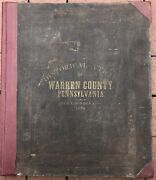 J A Howden / Howden And Odbertand039s Atlas Of Warren County Pennsylvamnia 1878 1st Ed