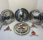 1957 Chevrolet 57 4 Deluxe Spinner Wheel Cover Hub Caps All Car Models 14andrdquo New