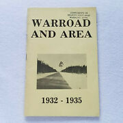1932-1935 Minnesota Warroad Historical Pamphlet About People And Events, Euc