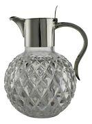 Antique - Mappin And Webb - Sterling Silver Claret Jug / Decanter 1897