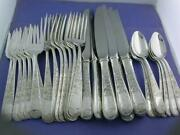 Sterling S Kirk And Son Flatware Set Dinner Size Old Maryland Engraved No Mono