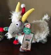 Hallmark And039tis The Season Screaming Fainting Singing Goat Sold Out Nwt Hysterical