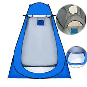 Outdoor Camping Portable Privacy Shower Toilet Tent With Window Foldable Uv