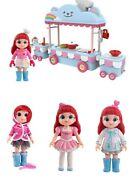 Rainbow Ruby Action Figures Collectables Toy Cartoon Character Doll Ruby Playset