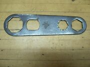 Vintage Ford Script Antique Car Hub Cap Cover Wrench T 1349 Tool Kit Model T A
