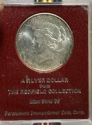1927-s Ngc Ms62 Redfield Collection Peace Silver Dollar