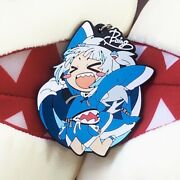 Hololive Vtuber Gawr Gura Andlsquoboing Boingandrsquo Rubber Keychain Japan F/s