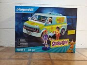 Playmobil 70286 Scooby-doo Mystery Machine With Fred, Daphne, And Velma