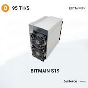 Cloud Mining Contract Real Antminer S19+ 95th Sha256 Bitcoinbsvbch.. 7 Days