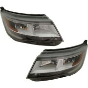 Pair Set Of 2 Hid Headlights Lamps Left-and-right Hid/xenon Lh And Rh For Explorer