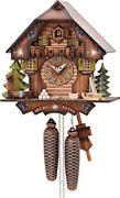German Cuckoo Clock 8-day-movement Chalet-style 13 Inch - Authentic Black Forest