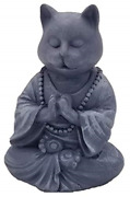 Rk Collections Buddha Cat Statue In Meditating Cat Figurine Pose For Zen Cat Or