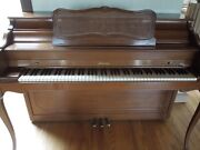 Baldwin Acrosonic Spinet Piano And Bench In Very Good Condition Circa 1962.