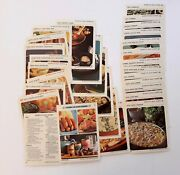 Betty Crocker Recipe Replacement File Cards Hurry Up Main Dishes S Complete 1971