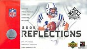 2005 Ud Reflections Football Hobby Box Aaron Rodgers Auto Rookie Upper Deck Sp