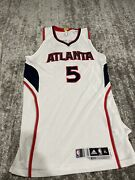 Demarre Carroll Meigray Ecf Game Worn Jersey 5/20/2015 Vs Cavs And Lebron James