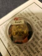 Civil War Relic Eagle Cavalry Button Flag Idand039d Letter Signed Rare 1st 5th Ny