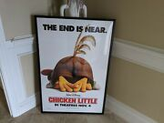 Chicken Little Framed Movie Poster - Local Pick Up Only