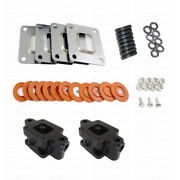 Mercruiser 350 Mag 3 Inch Spacer Kit 383 Mag 357 Mag Dry Joint Exhaust Manifold