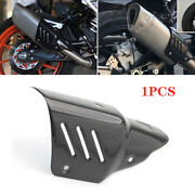 Universal Motorcycle Exhaust Pipe Carbon Fiber Anti-scalding Heat Shield Cover