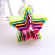 5xcookie Cutter Shapes Set Biscuit Cake Vegetable Cutting Mold Food Cutter