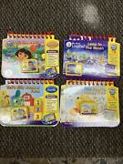 Lot Of 4 Leap Frog My First Leap Pad Game Cartridges Books Preschool