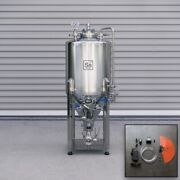 Ss Brewtech Unitank - 1/2 Bbl With Heating And Chilling Package Conical Beer