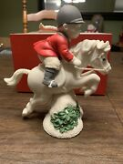 Collectible 2001 Snowbabies On The Farm Department 56 Tally Ho Figurine 67523
