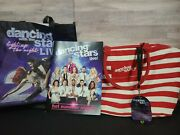Dancing With The Stars Live Tour 2 Tote Bags And Signed Autographed Program