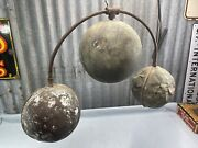19th C. Pawn Shop Trade Sign Copper Balls Early Loan