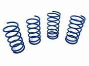 Manzo Lowering Drop Coil Springs For 1995-2002 Chevy Cavalier 2.4l Ld9 Z24