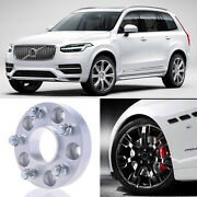 2pcs 25mm Thick Pcd 5x108 67.1cb Aluminum Wheel Spacers Adapters For Volvo Xc90