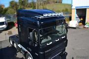 Roof Bar + Spots + Leds + Amber Beacons + Air Horns + Clamps For Daf Xf 95 Space