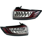 Pair Set Of 2 Tail Lights Lamps Left-and-right Ht4z13404f Ht4z13405g Lh And Rh
