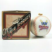 Negro Leagues Indy Clowns Professional Baseball Porcelain Collectible Ornament