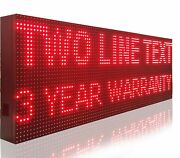 Marquee Billboard 15 X 113 Open Close Store Shop Led Signs Programmable