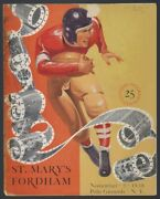 1938 St. Maryand039s Team Autographed 38 Football Program 1939 Cotton Bowl Champs