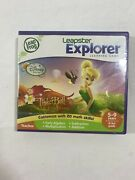 Tinkerbell Leapfrog Leapster Explorer Game Leap Pad23gsxdi Ultra W/ Case