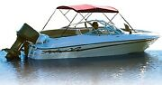 New Bimini Top Fabric Only For 3 Bow Frame Attwood Marine 342rd Length 6and039 Width