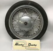 1972 Harley Davidson 4.1x19 Ironhead Front Wheel And Drum Brake And Tire