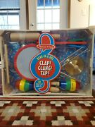 Melissa And Doug Band-in-a-box Clap Clang Tap 10 Piece Set